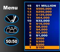 hvem vil være millionær spil